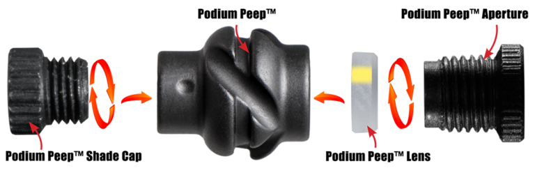 Specialty Archery Products - Podium Peep Archery-online-podium-peep-install